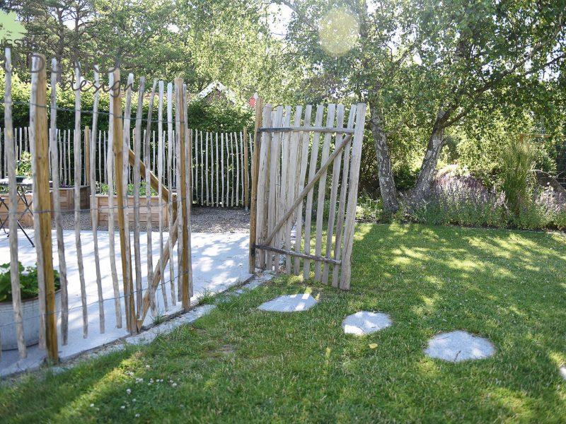 Trädgårdsdesign efter anläggning