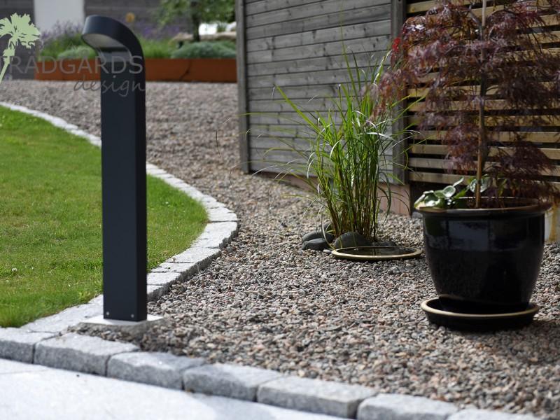 Trädgårdsdesign i Stråvalla