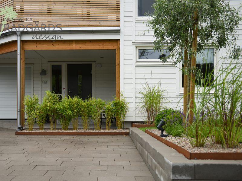 Trädgårdsdesign i Hovås