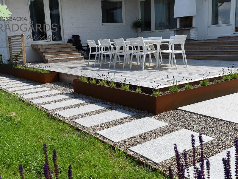 Trädgårdsdesign i Askim