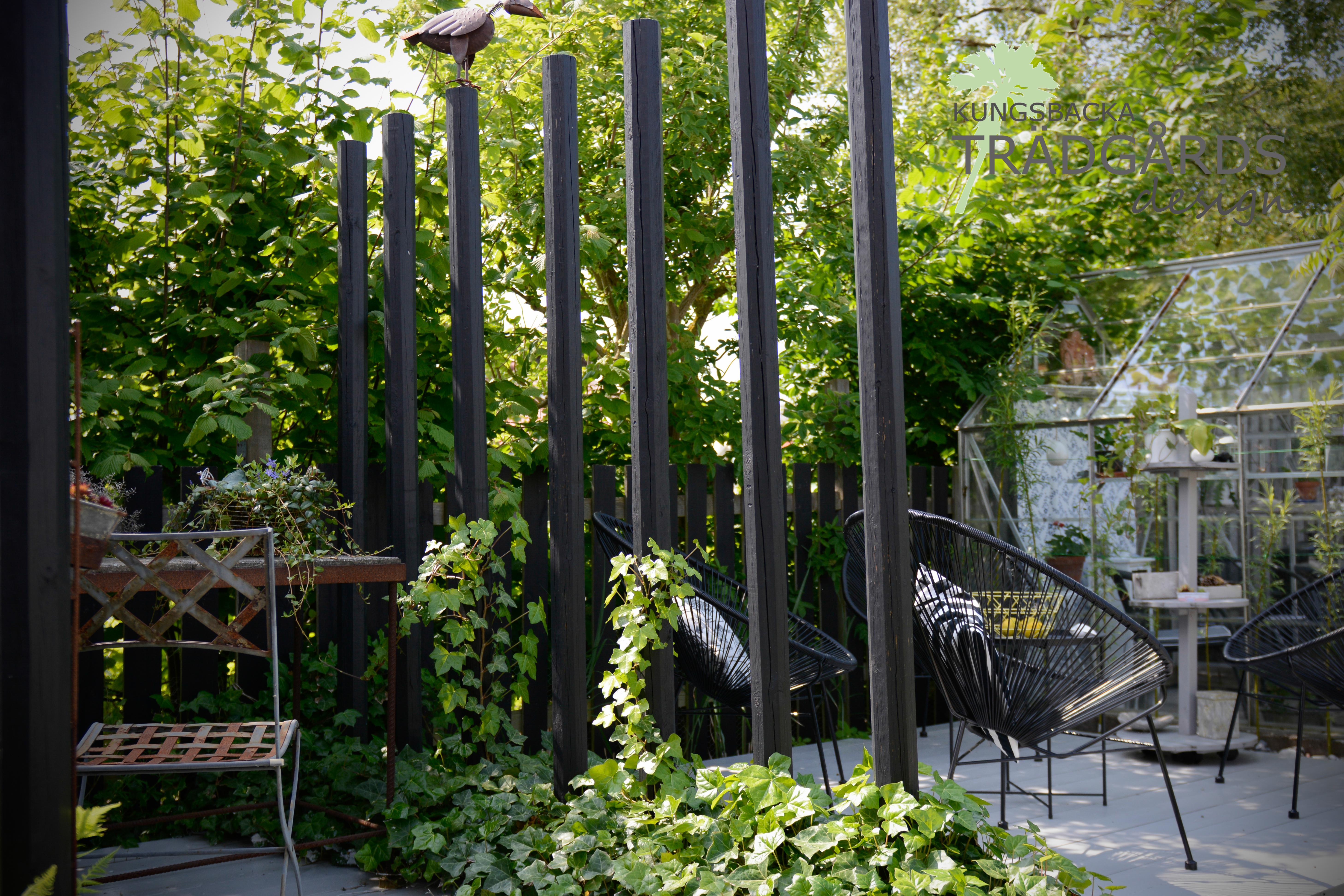 Väggar i trädgården